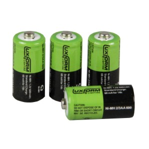 600Mah 2/3 Solar AA batteries