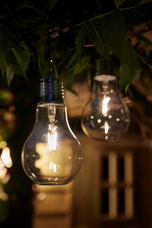 Solar 1x Filament Glass Bulb Luxform Lighting